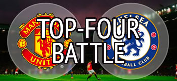 manchester chelsea top four battle