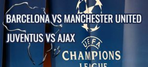 quarter final manchester barcelona juventus ajax