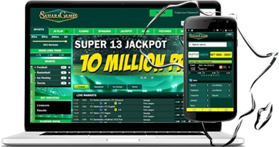 mobile sports betting sahara games