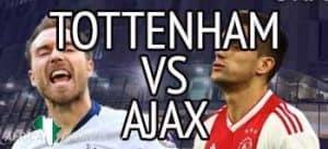 tottenham ajax champions league