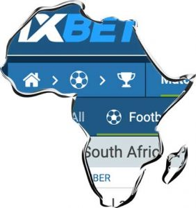 1xbet registration south africa